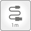 ACME CB2041G USB type-C cable, 1m