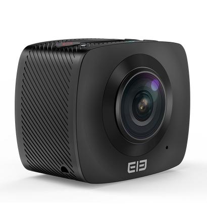 ELECAM 360 Video Camera 360 Degrees Panorama Camera Action Camera