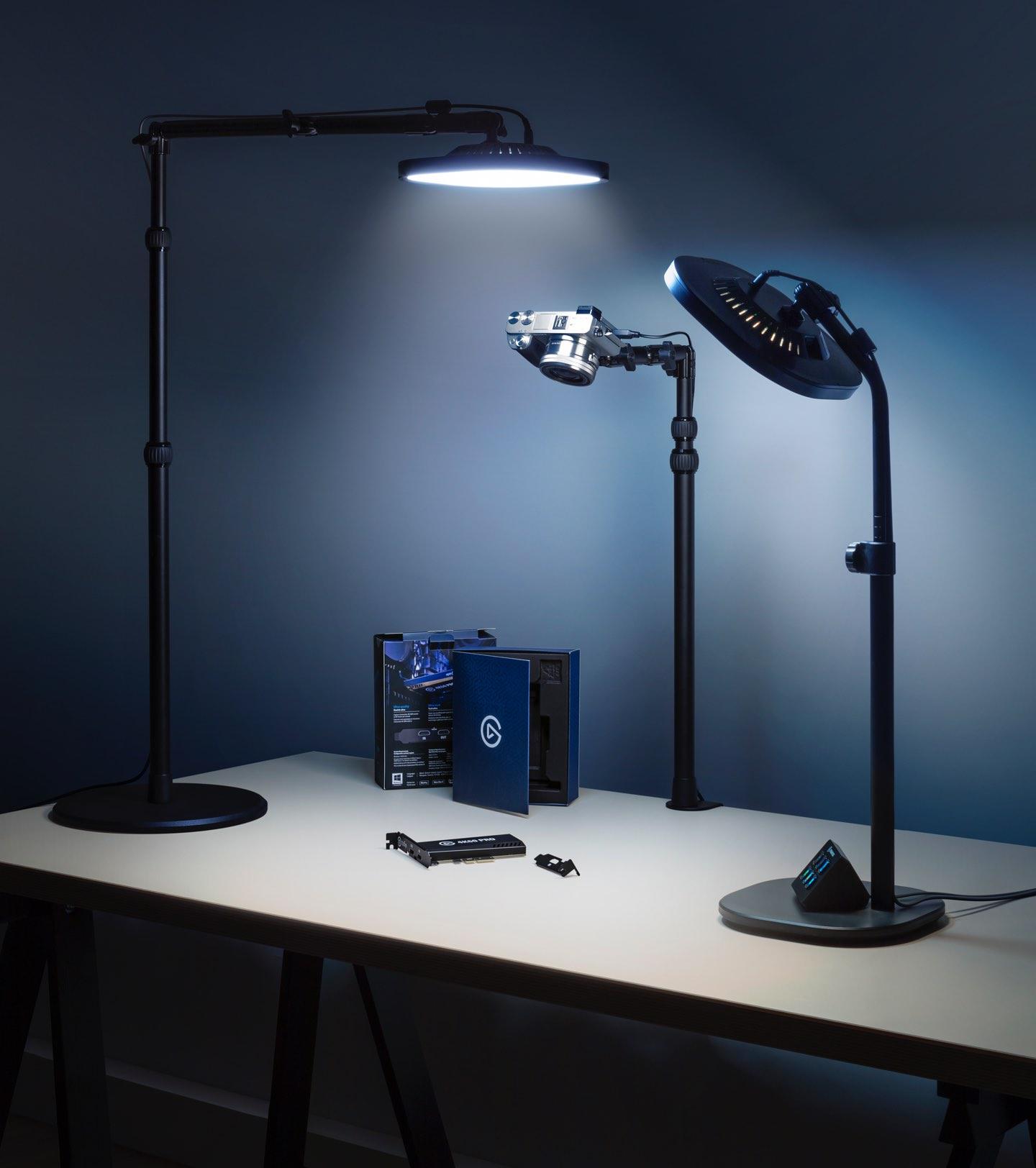 Elgato Key Light Air 1400 Lumens šviestuvas transliuotojui