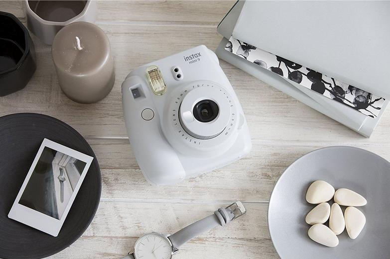 Fujifilm Moment.fotoap.instax mini 9 baltas+instax mini glossy (10pl)