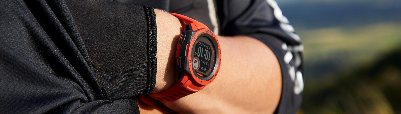 Išmanusis laikrodis Garmin Instinct Solar, Grafito spalvos
