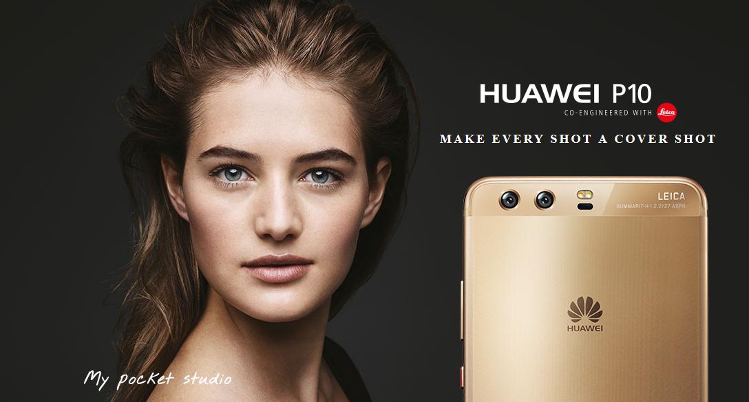 Išmanusis telefonas Huawei P10 (Juodas) 64 GB/4GB RAM