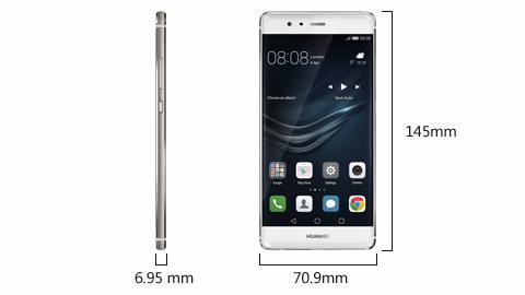 Išmanusis telefonas Huawei P9 pilka