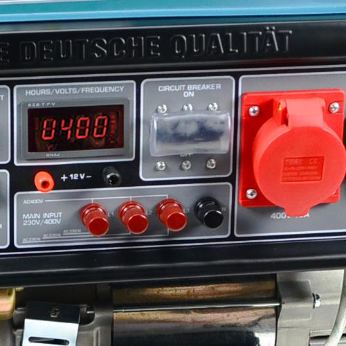 KÖNNER & SÖHNEN Benzininis generatorius 5,0kW 230/400V KS 7000E-3