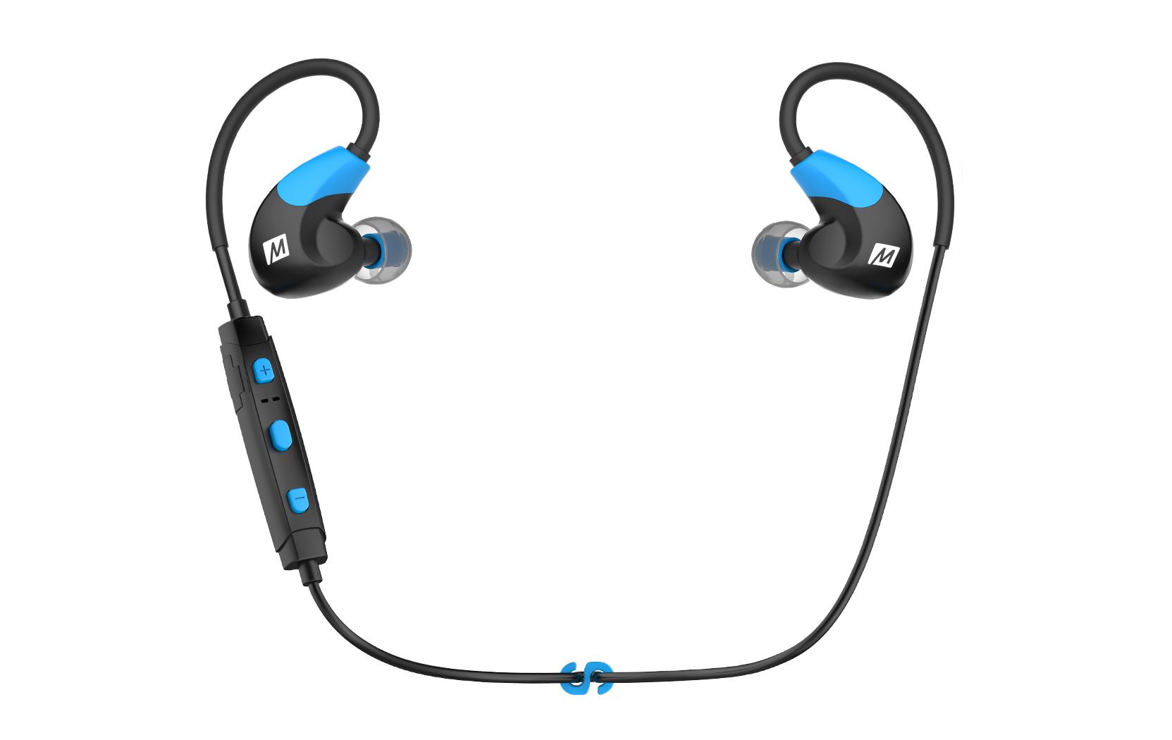 Mee Audio X7 STEREO BLUETOOTH BEVIELĖS SPORTO IN-EAR AUSINĖS (BLUE)