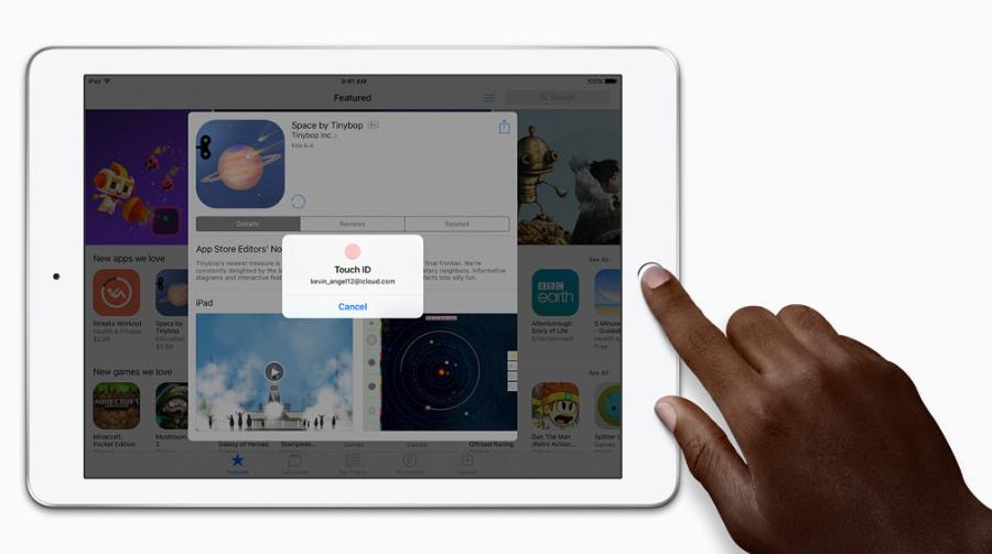 Planšetė Apple iPad Wi-Fi 32GB - Space Pilkas