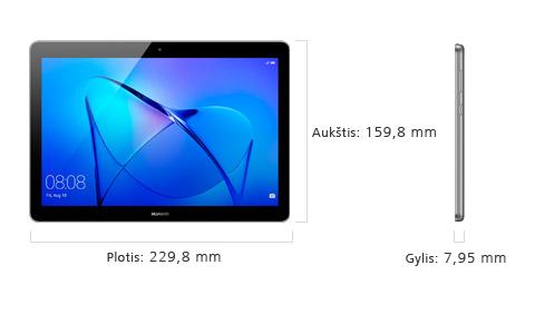 "Planšetė Huawei MediaPad T3 10"" 2/16GB 53010JBP"
