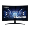 Samsung Odyssey C32G54TQWR 80cm (32'') WQHD Gaming Monitorius HDMI/DP 144Hz 1ms