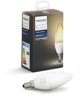 Philips Hue E14.Philips Hue Baltas Ambience Personal Wireless Lighting Led E14 Small