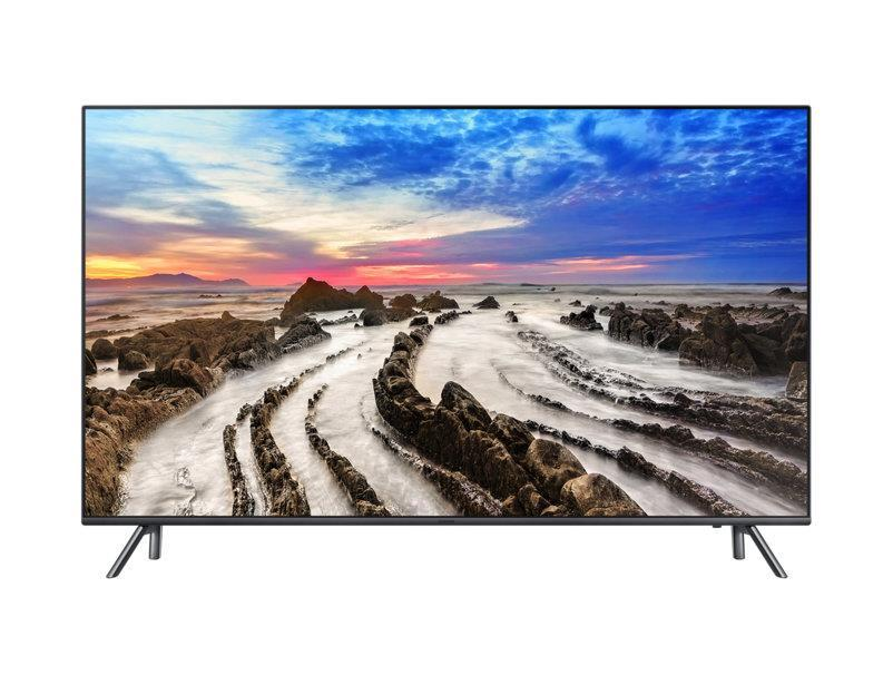 Televizorius TV Set | SAMSUNG | 4K/Smart | 55'' | 3840x2160 | Wireless LAN | Bluetooth - Televizoriai