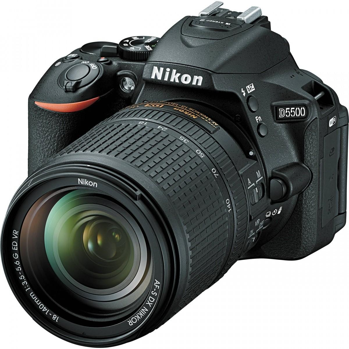Fotoaparatas Nikon D5500 + 18-140mm VR