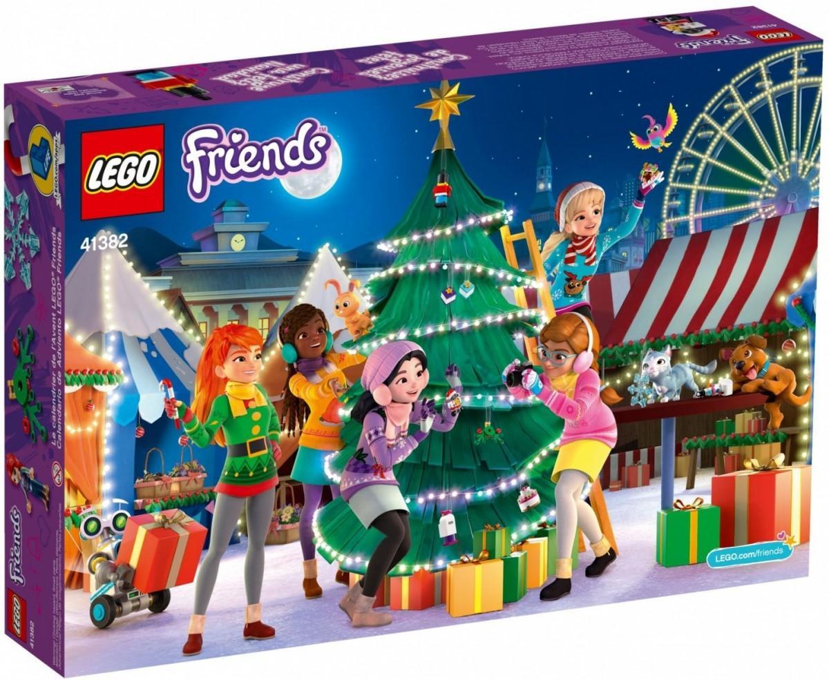 Lego Christmas Set 2019.Lego Friends Advent Calendar 2019 41382