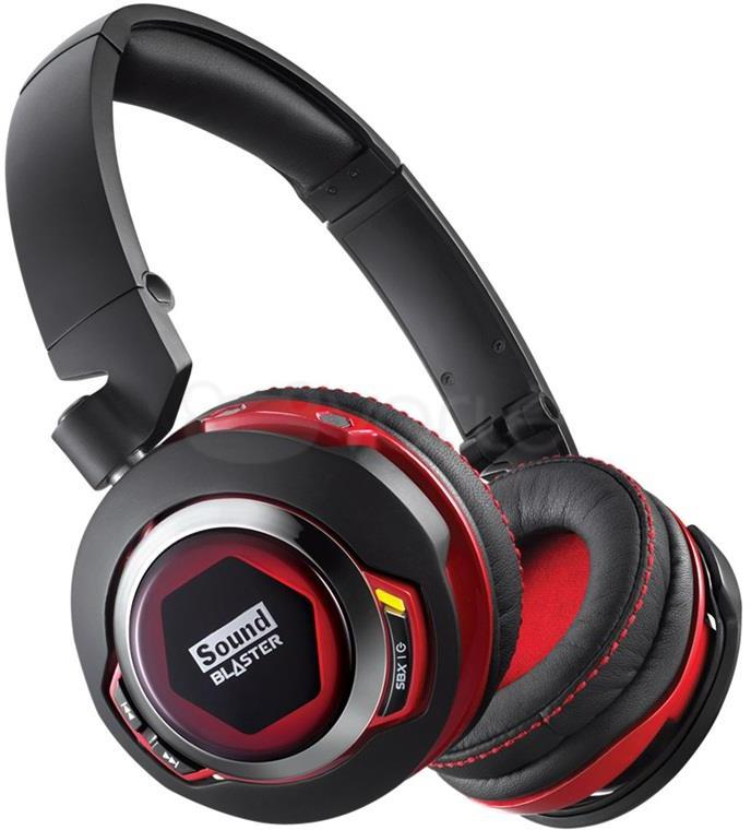 Creative Sound Blaster EVO ZxR Bluetooth NFC Active Noise-cancelling Headphones with iOS Android ...