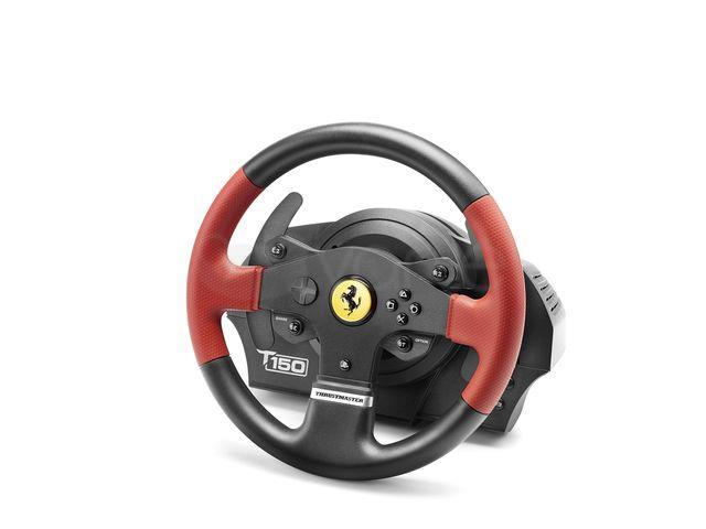 thrustmaster t150 ferrari wheel lenkrad und pedale pc ps3. Black Bedroom Furniture Sets. Home Design Ideas