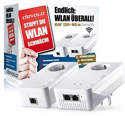 devolo dlan 1200 wifi ac starter kit bridge. Black Bedroom Furniture Sets. Home Design Ideas