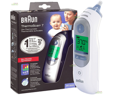 3760e52b7be Braun ThermoScan® 7 Age Precision Ear Thermometer IRT6520 Memory function,  Measurement - Termometrai