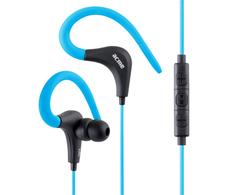 Išparduodama. ACME HE17B Sporto ir veiksmo ausinukai su mikrofonu bei valdikliu Mėlyni (Atnaujinta)