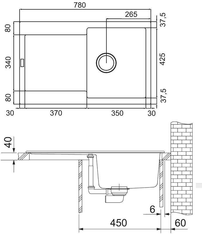 akmens mas s plautuv franke maris mrg 611 cashmere. Black Bedroom Furniture Sets. Home Design Ideas