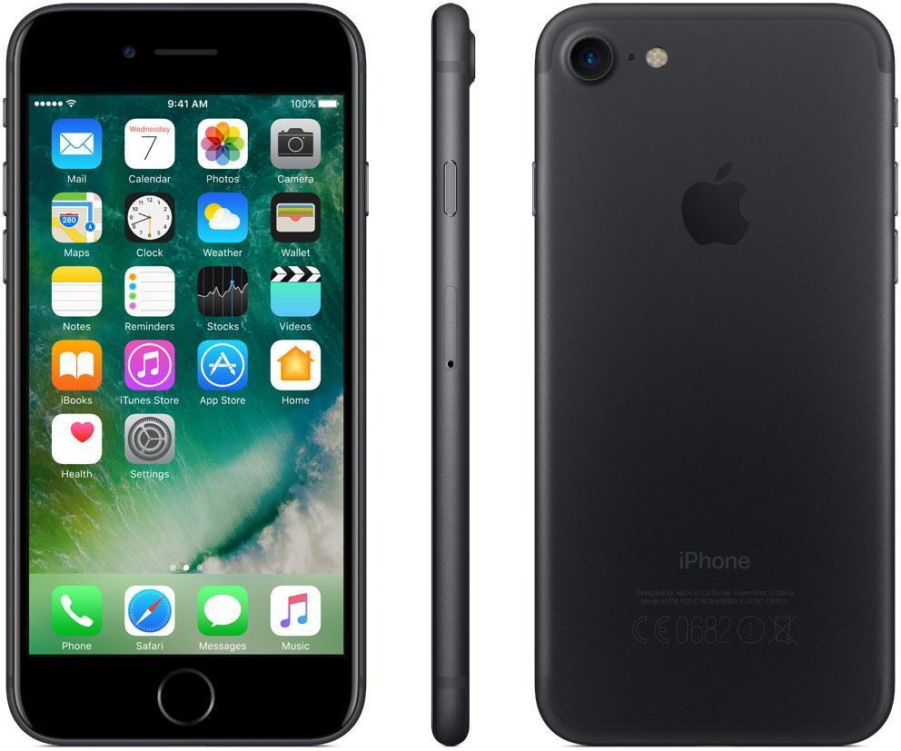 apple iphone 7 256gb juodas black. Black Bedroom Furniture Sets. Home Design Ideas