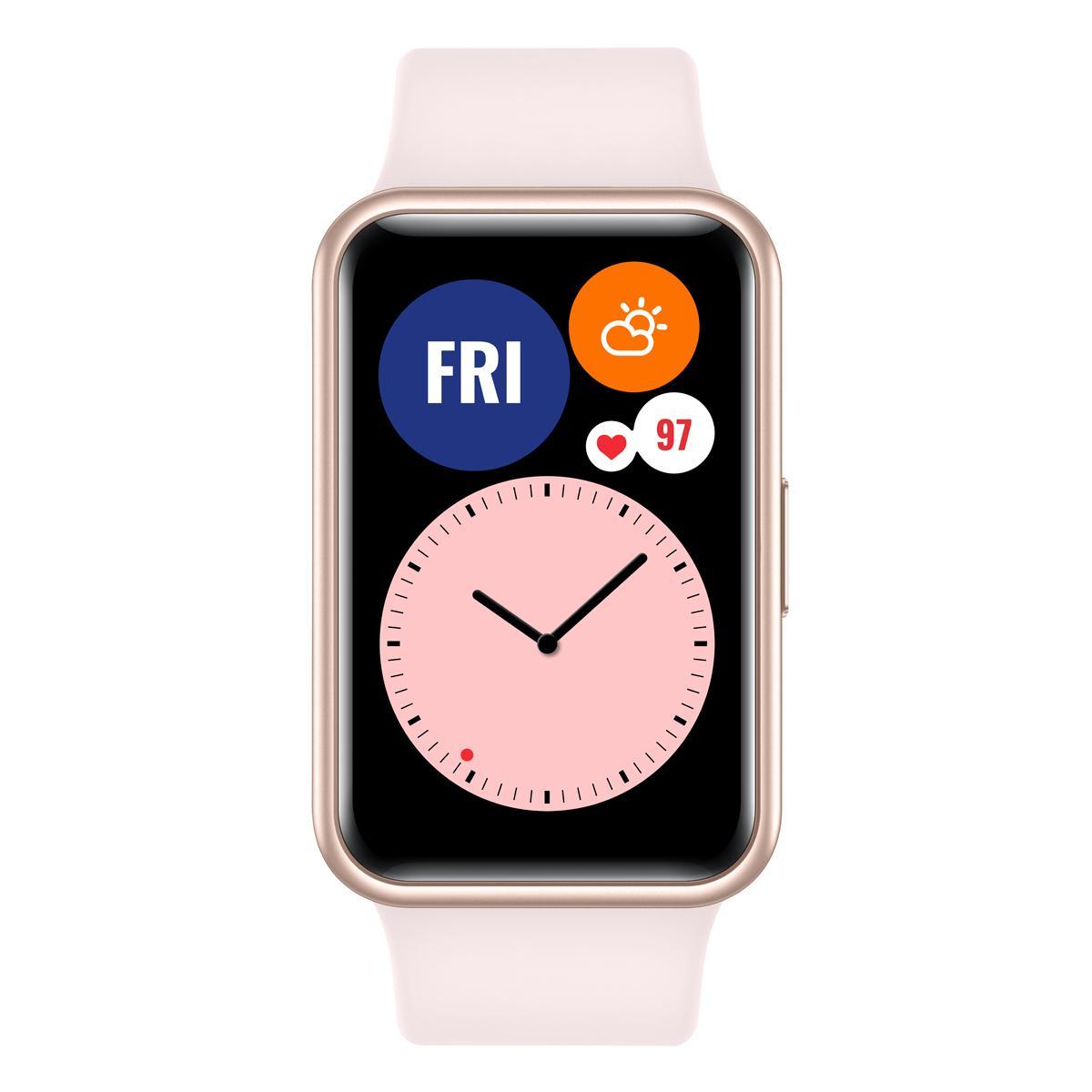 Išmanusis laikrodis FIT / PINK 55025876 HUAWEI Žema kaina | Varle.lt