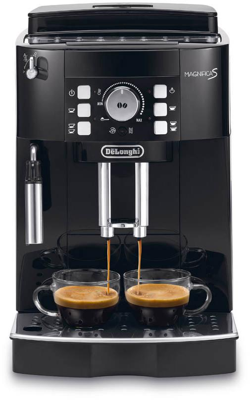 delonghi magnifica s pump pressure 15 bar type fully automatic 1450 w juodas. Black Bedroom Furniture Sets. Home Design Ideas