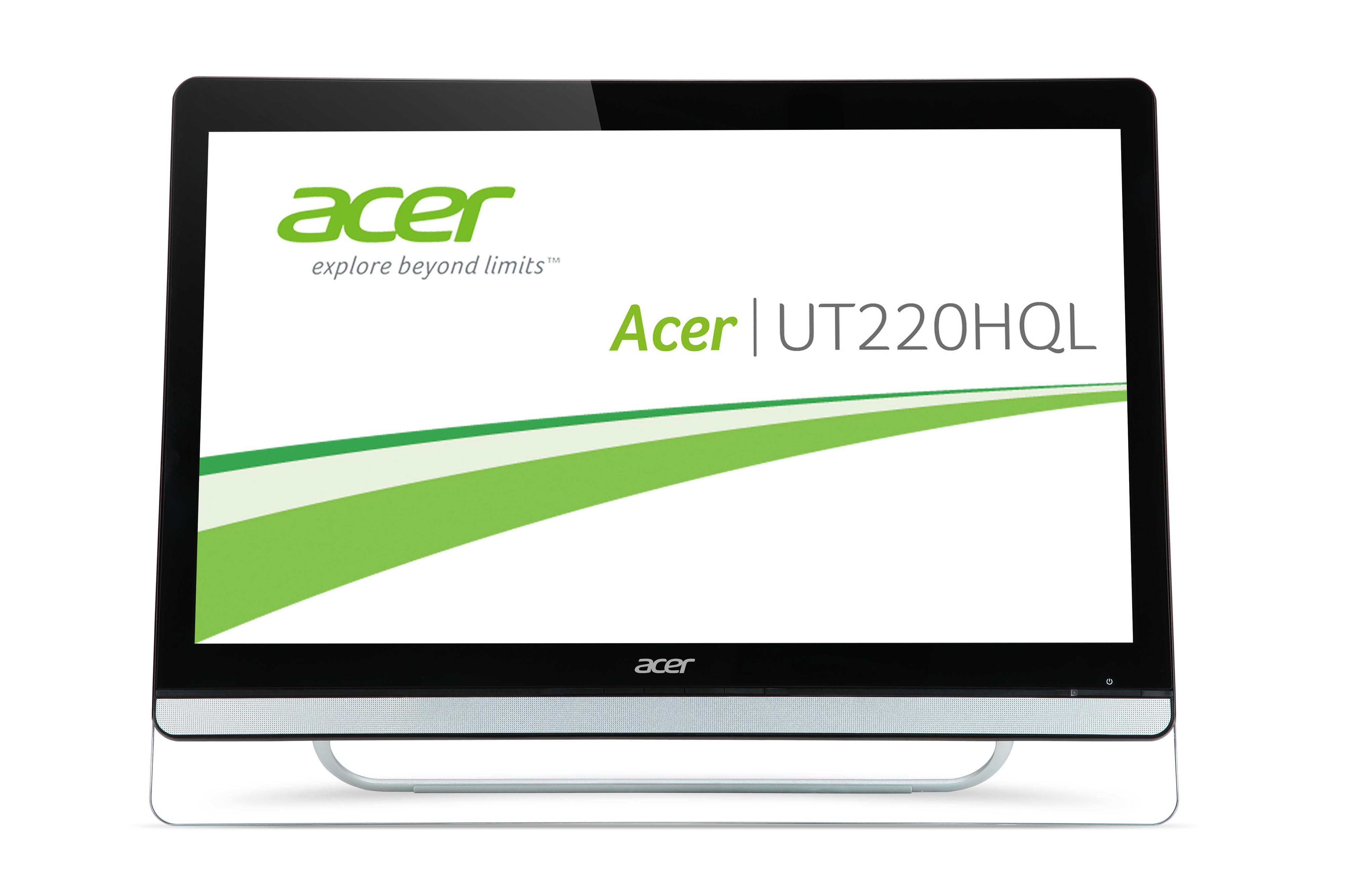 Monitorius Acer UT220HQL - 54.6 cm (21.5'') - 8 ms - 250 cd/m² - Full HD - 1920 x - Monitoriai