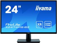 Monitorius IIYAMA ProLite X2474HS-B2 24inch Full HD monitor with VA panel - Monitoriai