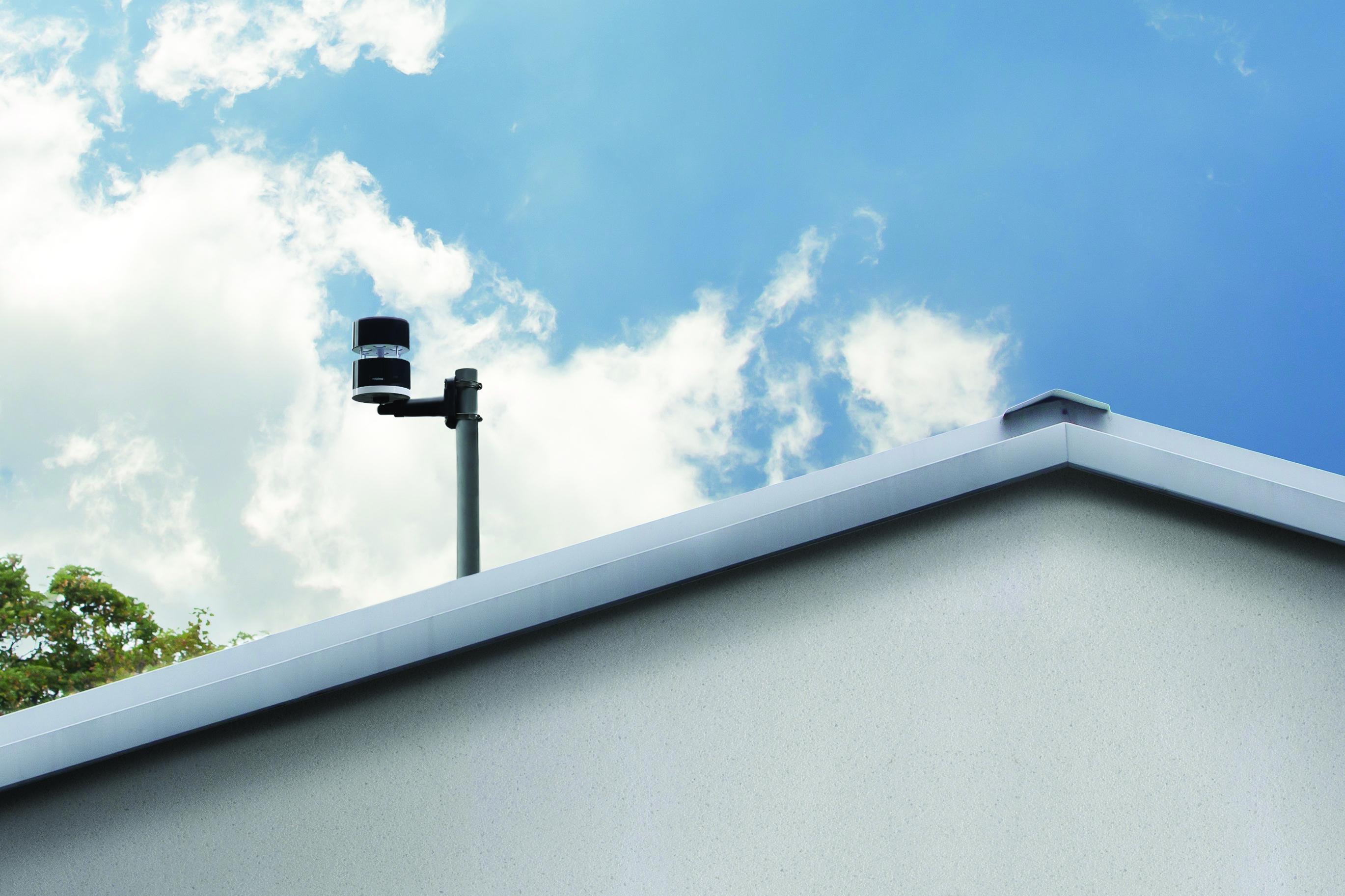 meteo station wind gauge netatmo. Black Bedroom Furniture Sets. Home Design Ideas