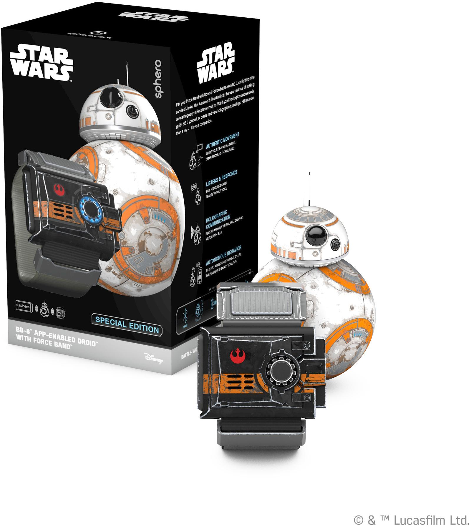 Get That Droid: BB-8 Arrives in Star Wars: Galaxy of ...