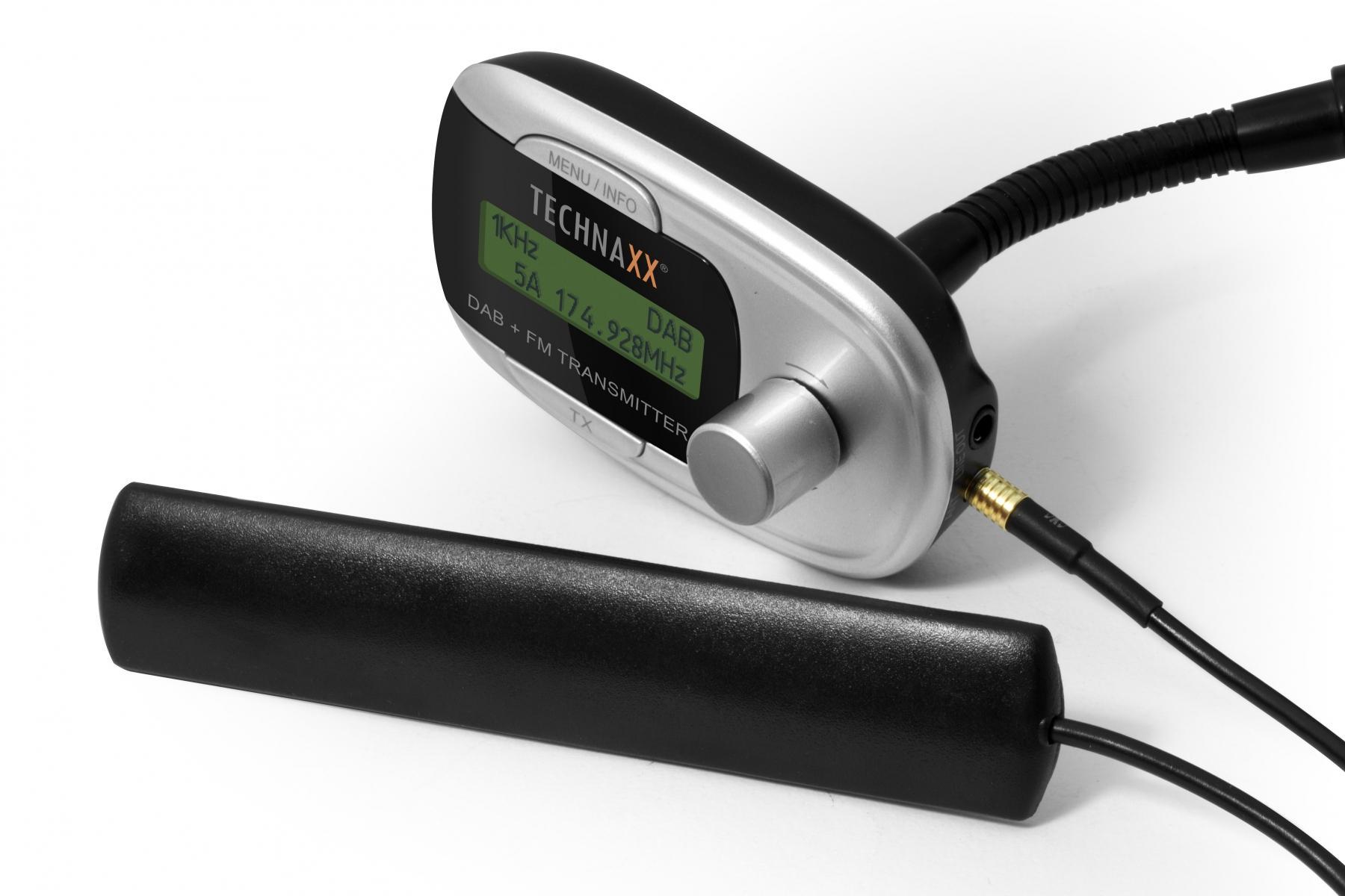 technaxx dab fm transmitter t800. Black Bedroom Furniture Sets. Home Design Ideas