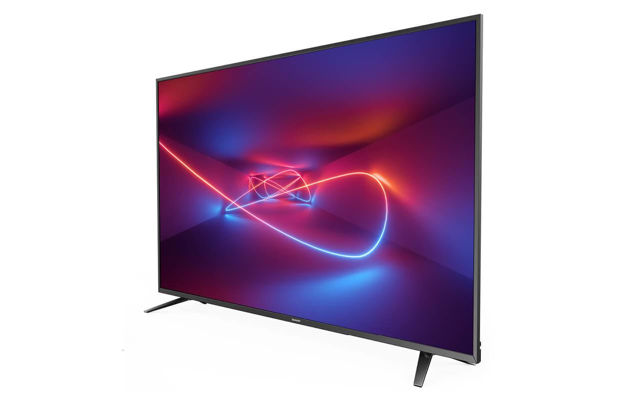 Lc Design Mobili Tv.Sharp Aquos Lc 60ui7652e Televizorius 152 4 Cm 60 4k Ultra Hd Smart Tv Wi Fi Juoda