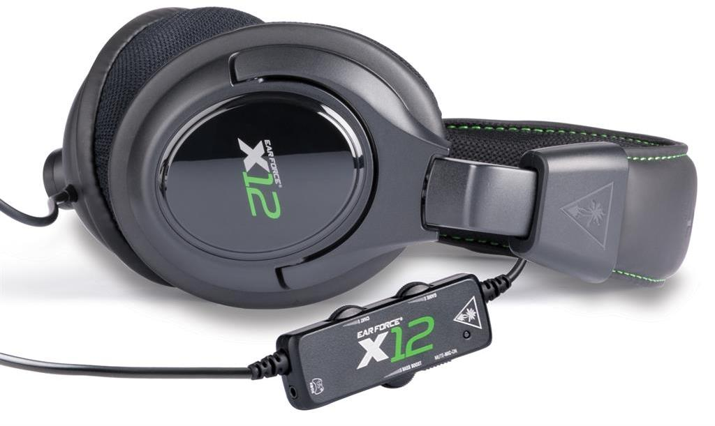 how to connect turtle beach x12 to xbox 360