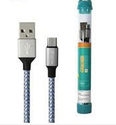 Devia Tube cable for Micro USB (5V 2.1A,1M) blue - USB kabeliai