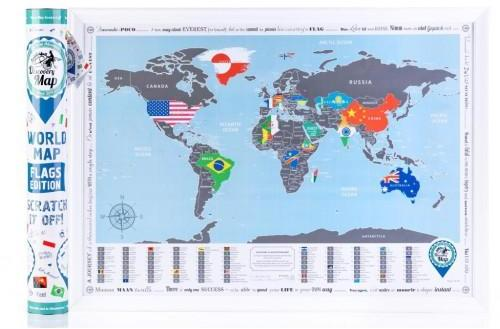 Map Of The World Flags.Discovery Map Flags Edition