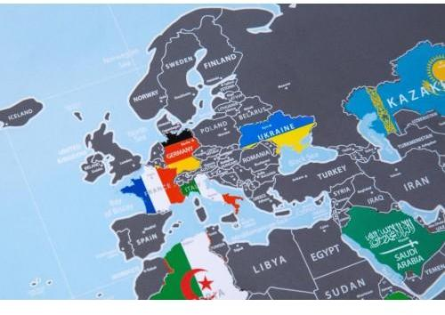 Map Of World Flags.Discovery Map Flags Edition Varle Lt