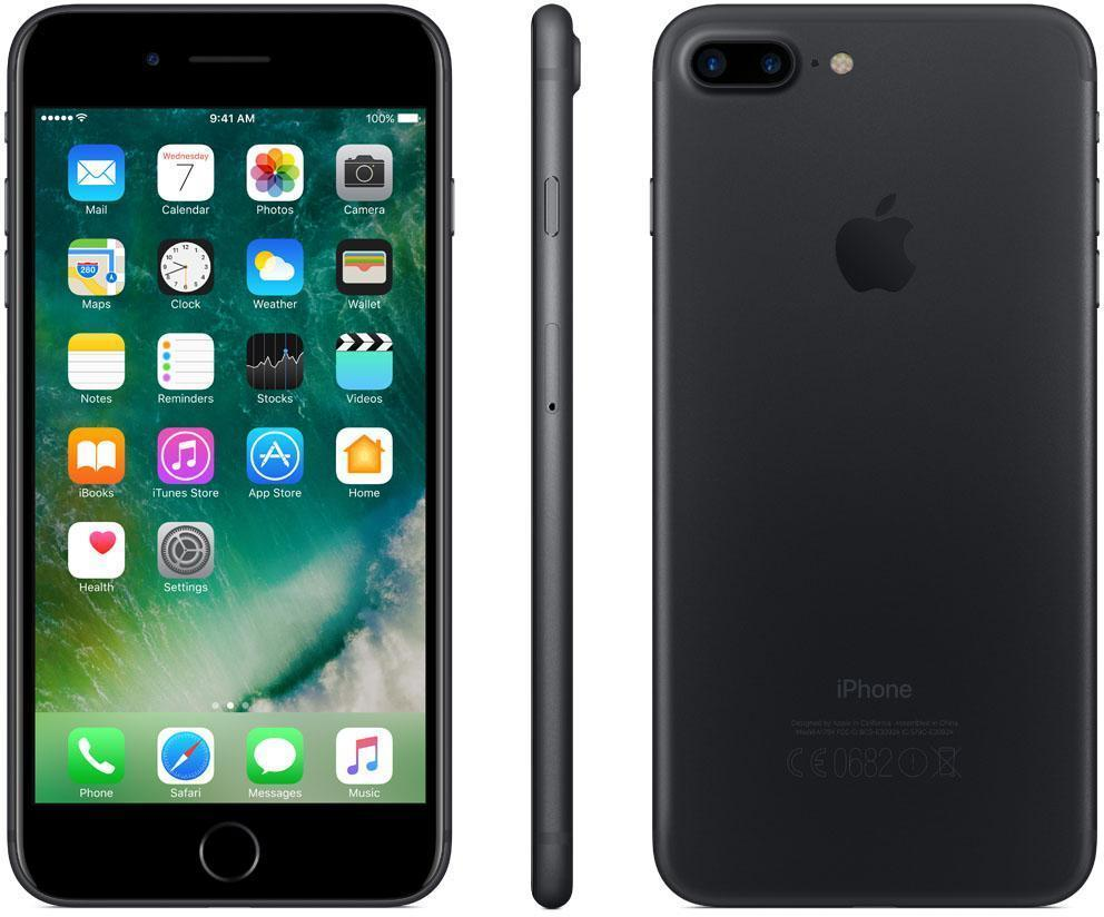 apple iphone 7 plus 128gb juodas black. Black Bedroom Furniture Sets. Home Design Ideas