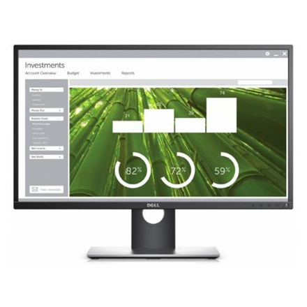 Monitorius Dell P2717H 27 '', IPS, FHD, 1920 x 1080 pixels, 16:9, 6 ms, 300 cd/m², - Monitoriai