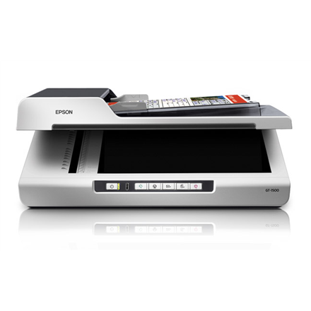 Skeneris epson gt 1500 flatbed and adf document scanner for Epson gt 1500 document scanner