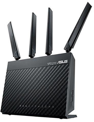 Maršrutizatorius Asus LTE Modem Router 4G-AC68U 802 11ac, 600+1300 Mbit/s,  10/100/1000 Mbit/s, Ethernet LAN (RJ-45) ports 4, Mesh Support Yes, 4G,