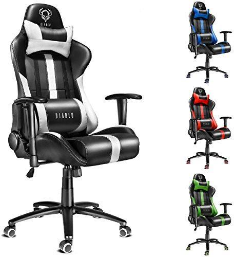 Office Chairs.Diablo Chairs Diablo X Player Office Chair Desk Chair Zaidimų Kėdė Computer Chair Juodas Baltas
