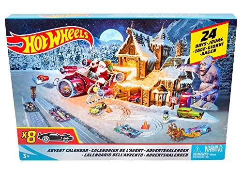 Weihnachtskalender Hot Wheels.Mattel Adventskalender Hot Wheels