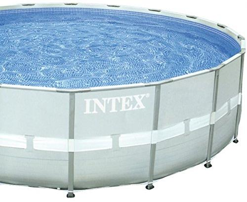 intex pool ultra frame pool set rondo pilkas diameter 488 x 122 cm. Black Bedroom Furniture Sets. Home Design Ideas