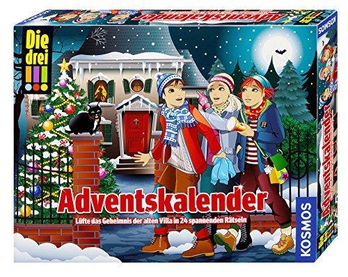 Alte Weihnachtskalender.Kosmos Die Drei Adventskalender