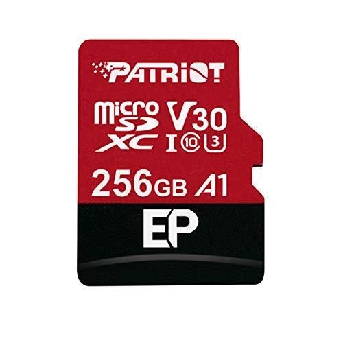 Sd Karte Micro.Atminties Kortelė Patriot Ep Series 256gb Micro Sdxc V30 Up To 100mb S