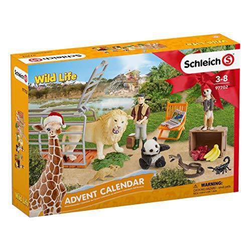 Schleich Weihnachtskalender.Schleich Advent Calendar 2018 Wild Life 97702
