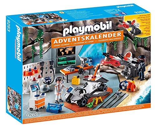 Cars Weihnachtskalender.Playmobil Adventskalender Spy Team Werkstatt