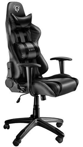 Sedia Da Computer Ergonomica.Diablo Chairs Diablo X One Gaming Sedia Da Ufficio Design Ergonomico Meccanismo Di Inclinazione Cuscino Lombare Finta Pelle Portata 150 Kg Nero
