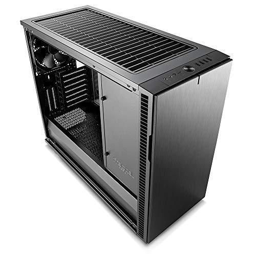Scrivania Per Computer Design.Fractal Design Define R6 Usb C Gunmetal E Atx Power Supply Included No