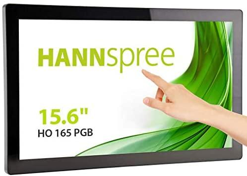 Monitorius Hannspree 39.6cm (15,6'') HO165PGB 16:9 M-TOUCH HDMI+DP+VGA - Monitoriai