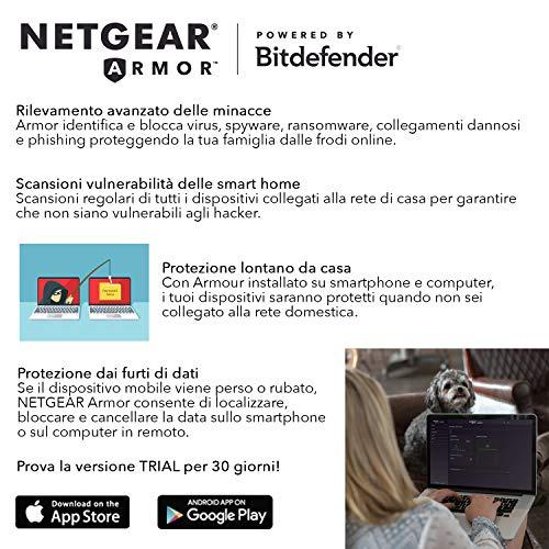 Maršrutizatorius Netgear AC2300 Nighthawk SMART WiFi Router with MU-MIMO  Gigabit (R7000P)